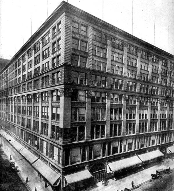 Fair Store Building – William Le Baron Jenney 1891,