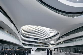 Galaxy Soho, Beijing, China. Photograph: Rex/View Pictures