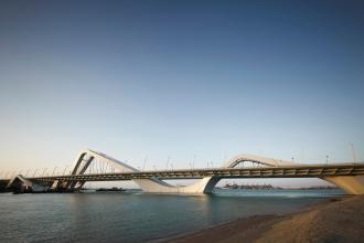 Sheikh Zayed Bridge, Abu Dhabi, United Emirates Photograph: View Pictures/UIG via Getty Images